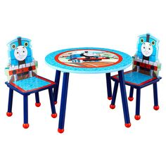 I pinned this 3 Piece Thomas & Friends Table & Chairs Set from the Playtime Finds event at Joss and Main!
