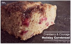 As you may know, the combination of cranberry and vodka has a special place  in my heart.  It's getting to be potluck and holiday party season. We're going to a  potluck tonight and I'm bringing these beauties. They're a great, easy  side dish to bring - and who doesn't love cornbread?! At my husband's  office, cornbread is always one of the first things to go.   Depending on the time of the year, fresh cranberries can be difficult to  find. For this recipe, I opted for frozen, because…