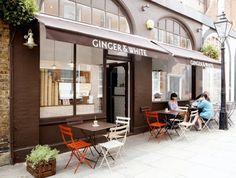 GingerandWhite, un café con encanto en Londres