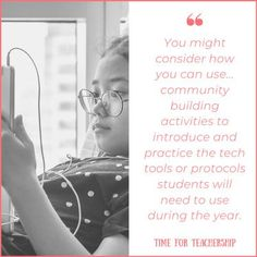 How Can We Build Community At a Distance? What are the activities and tools we can use to get to know our students this year even if we don't meet in person? For some concrete community building ideas, read the Time for Teachership blog post. For more instructional strategies and teacher tips, sign up for weekly emails at bit.ly/lindsayletter Writing Lesson Plans, Writing Lessons, Special Education Teacher, Teacher Resources, Community Building Activities, School Community, Instructional Strategies, Changing Jobs, Student Motivation