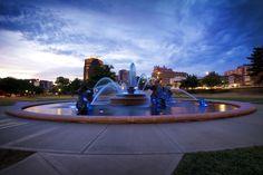 J.C. Nichols Memorial Fountain- Kansas City