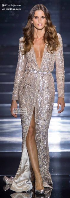 Trendy Ideas For Fashion Dresses Party Couture Zuhair Murad Fashion Week, Look Fashion, Runway Fashion, Fall Fashion, Luxury Fashion, High Fashion, Fashion 2015, Beautiful Gowns, Beautiful Outfits
