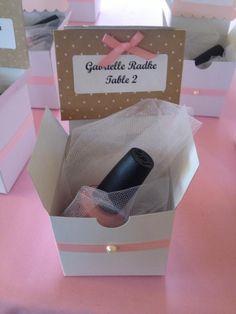 Baby Shower favor pink OPI polish