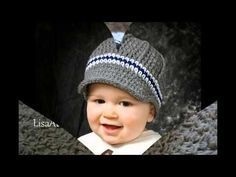 crochet spring hat for infant Crochet Baby Shoes, Crochet Baby Clothes, Baby Blanket Crochet, Ravelry Crochet, Crochet Shawl, Crochet Stitches, Boy Crochet Patterns, Spring Hats, Crochet Beanie Hat