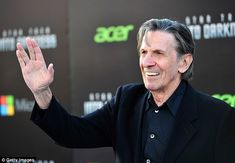 Rushed to hospital: Leonard Nimoy was taken to UCLA Medical Center on February 19 after suffering severe chest pains. His wife confirmed he passed away at his home on Friday morning