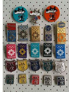 VUCKO SARAJEVO 1984 OLYMPIC PINS COLLECTION YUGOSLAVIA http://www.ebay.com/itm/261600611447?ssPageName=STRK:MESELX:IT&_trksid=p3984.m1555.l2649