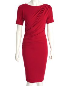 Look at this Red Pazia Dress on #zulily today!