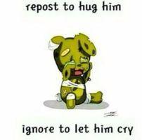 I'll hug you!!!