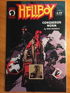 Hellboy Conqueror Worm #1 - May 2001 - Dark Horse