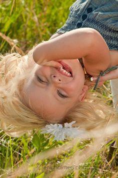 Even upside down children are beautiful.