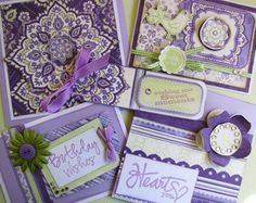 Purple Morning Dew Card Kit Morning Dew, Card Making Kits, Unique Cards, Card Kit, News Blog, Personalized Items, Purple, Viola