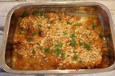 Löysin tämän herkullisen mantelikalan ohjeen Voita ja Suolaa - blogista. Edellisen kerran tätä on tullut syötyä kouluaikoina. Päätin koke... Sweet And Salty, Fish And Seafood, Fried Rice, Seafood Recipes, Lasagna, Banana Bread, Macaroni And Cheese, Food And Drink, Vegetarian