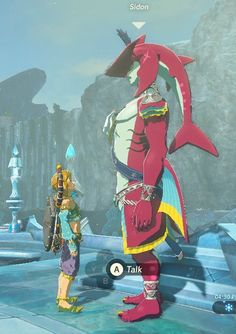 I'm always a sucker for height differences between couples, but BotW takes it to a whole new level...(not referring to the SidLink ship.)