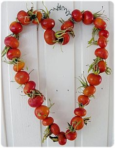 rose hip wreath