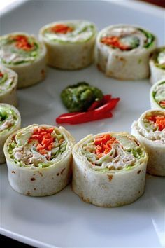 California Style Tuna Salad Rolls | The Curvy Carrot California Style Tuna Salad Rolls | Healthy and Indulgent Meals Dangling in Front of You