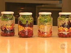 Rede Globo > Nutriação - Aprenda a fazer uma salada que dura até 7 dias