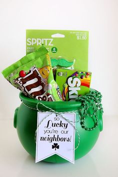 So Lucky You're our Neighbors!  St. Patrick's Day Tags