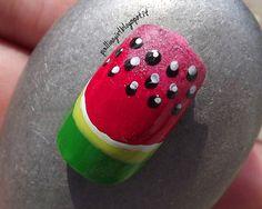 Tutorial Nail Art – Estate e Frutta: l'Anguria