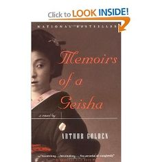 Memoirs of a Geisha - read it twice...just as good the second time