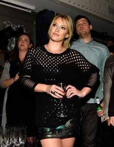 """9/24/14-Hilary Duff at her """"All About You"""" Music Video Premiere in NYC."""