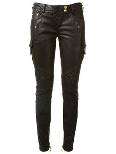 Balmain biker trousers (as worn by Rita Ora)