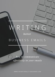6 quick tips to improve your business email etiquette and help you write better emails