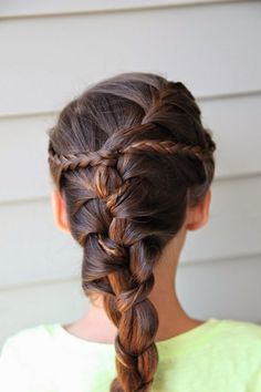 French Braids Hairstyle