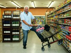 It's Guy Fieri - It can't be bad  Take a Tour of Flavortown Market: Guy's Grocery Games