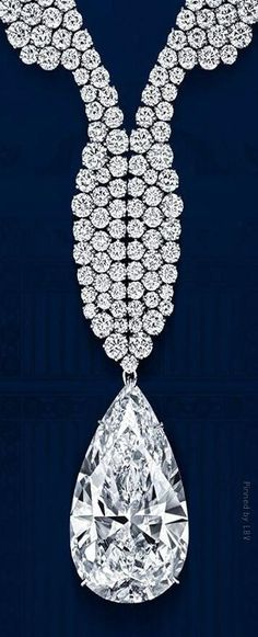 Harry Winston Diamond Wave Necklace