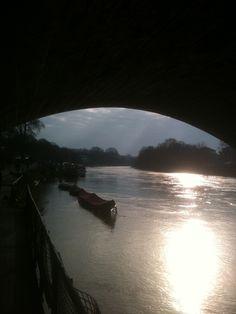 All water under the bridge!