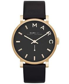 Marc Jacobs watch - just the right amount of 'fancy' for me