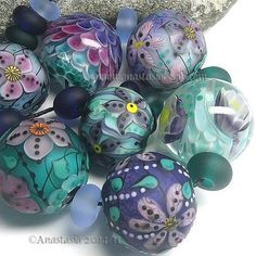 US $135.39 New without tags in Jewelry & Watches, Loose Beads, Lampwork