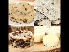 Who loves Oreos? What we have here are four of our absolute favorite Oreo recipes: Oreo Cheesecake Bites, Oreo Salted Caramel Bites, Oreo Bark, and Oreo Stuffed Chocolate Chip Cookies! Oreo Dessert, Dessert Drinks, Cookie Desserts, Dessert Bars, Just Desserts, Cookie Recipes, Dessert Recipes, Dessert Ideas, Yummy Snacks