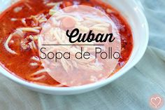 Cuban Chicken Soup Con Barilla Fideo Cut Spaghetti