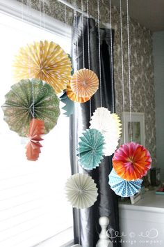 Pleated Projects Week at Jones Design Co:  paper medallion tutorial