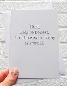 Funny Father's Day Cards in Cards & Wrap – Etsy Father's Day Gifts – Amy Deaton - TechUve Photos Funny Fathers Day Card, Fathers Day Presents, Fathers Day Crafts, Funny Birthday Cards, Gifts For Father, Fathers Day Ideas, Dad Gifts, Mothers Day Gifts From Daughter Diy, Grandparent Gifts