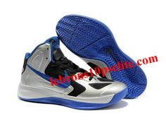 new style a54c5 6d411 Nike Zoom Hyperfuse 2012 Jeremy Lin Shoes Silver Black Blue