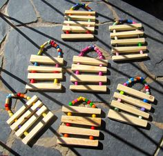 Hobbies For Kids, Diy For Kids, Crafts For Kids, Crafts To Sell, Diy And Crafts, Arts And Crafts, Kindergarten Math Games, Woodworking Projects Plans, Wooden Crafts
