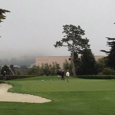 Presidio Golf Course is well suited for billy-goats (flat lies are a premium) and Eskimos (wind and fog prevail)!