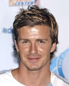 David Beckham Hairstyles: David Beckham Casual Short Hairstyle For Men ~ hsloft.com Celebrity Hairstyles Inspiration