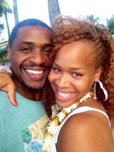 Teddy&Tina of Mary Mary in Hawaii celebrating 14yrs of marriage