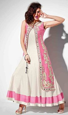 New Indian Fashion Anarkali Churidar Suits for Ladies (5)