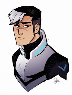 Shiro is fed up with Keith and Lance's arguing. (So is everyone else)