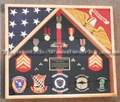 usmc shadow box - Google Search