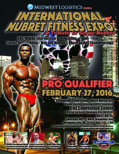February 27, 2016 International Nubret Fitness Expo Oklahoma City OK www.bandlevents.com