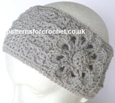 Free crochet pattern ear warmer headband usa