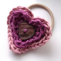 Heart bobble. Such a sweet idea.