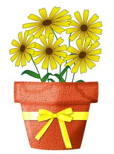 CH B *✿* Friendship Flowers, Gift Wrapping, Clip Art, Graphics, Spring, Blog, Gifts, Floral Decorations, Vases