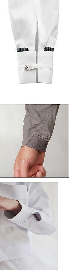 Три идеи оформления манжет рубашки или блузки / Блузки / ВТОРАЯ УЛИЦА
