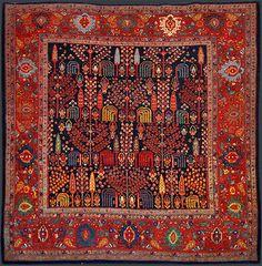 Persian Bidjar Oriental Rug #42947